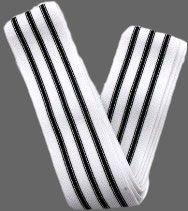 METAL - Triple Black Line Kniebandage - 200cm