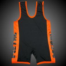 METAL Einteiler schwarz/orange