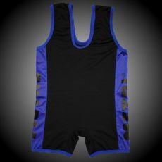 METAL Slim Fit Einteiler schwarz/blau