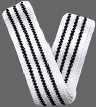 METAL TRIPLE BLACK LINE KNEE WRAP