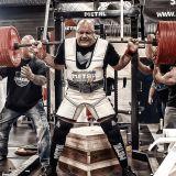 METAL CANVAS JACK squat suit